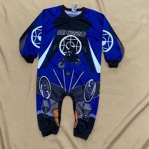 Motocross pajamas 18-24 months